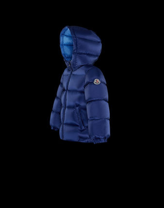 MONCLER べビーアウター MONCLER2017/18新作BABYフード付ダウンNEW MACAIRE 3M~3A(6)