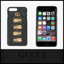 【国内送関込】GUCCI新作* GG Marmont 2.0 IPhone 7 Plus Case
