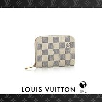 Louis Vuitton ジッピー・コイン パース ダミエ・アズール*国内