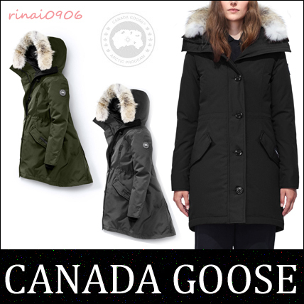 希少!北米限定モデル!*CANADA GOOSE*ROSSCLAIR PARKA☆B-LABEL