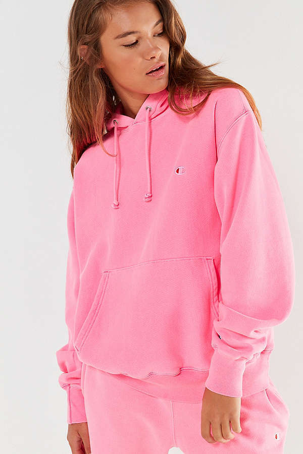 Urban Outfitters☆Champion&Pigment Dye Hoodieスウェット