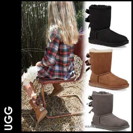 UGG キッズブーツ 大人も履ける★追跡付【即発・UGG】Bailey Bow II