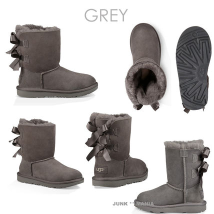 UGG キッズブーツ 大人も履ける★追跡付【即発・UGG】Bailey Bow II(4)