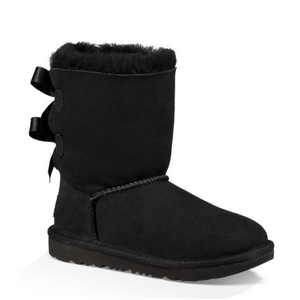 UGG キッズブーツ 大人も履ける★追跡付【即発・UGG】Bailey Bow II(6)