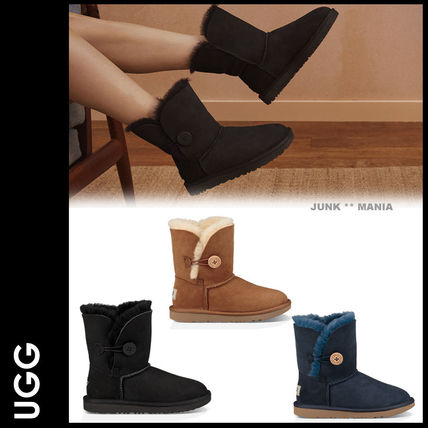 UGG キッズブーツ 大人もOK★追跡付【即発・UGG】BAILEY BUTTON II
