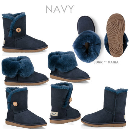 UGG キッズブーツ 大人もOK★追跡付【即発・UGG】BAILEY BUTTON II(4)