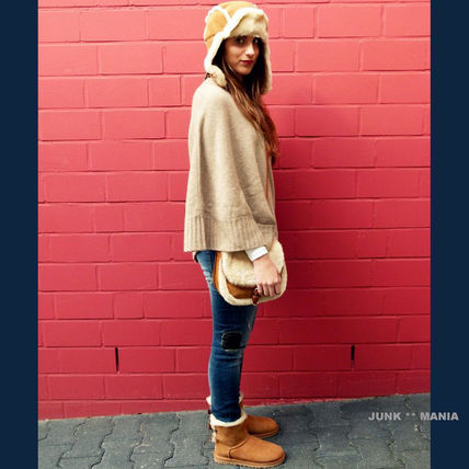 UGG キッズブーツ 大人も履ける★追跡付【UGG】撥水&防汚加工/MINI BAILEY BOW II(4)