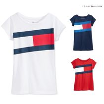 Tommy Hilfiger(トミーヒルフィガー) キッズ用トップス 【Tommy Hilfiger】大人OK★新作セール★送料込★トミーロゴTEE