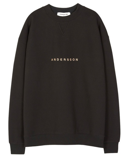 ☆ANDERSSONBELL☆SIGNATURE EMBROIDERY SWEATSHIRT 4色