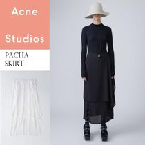 ACNE Pacha double layer skirt ダブルレイヤースカート2色