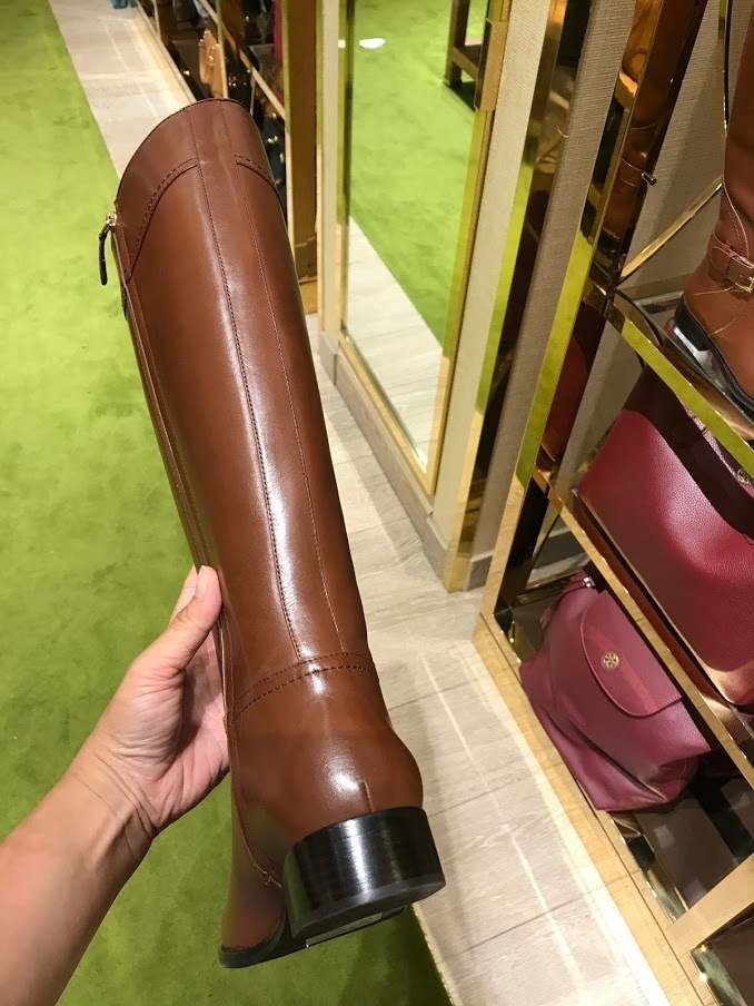 追跡有 秋冬新作★TORY BURCH★ASHLYNN RIDING BOOT