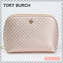 【Tory Burch】Marion Leather Cosmetic Caseコスメポーチ(正規)