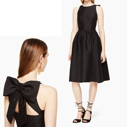 SALE ☆Kate spade☆ bow back fit and flare dress  ワンピース