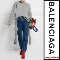 【国内発送】Balenciaga セーター Draped cotton-jersey sweater