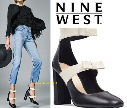 Nine West パンプス SALE【リボンが素敵】本革Nine West Dannellレザーパンプス