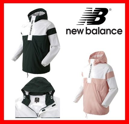 ☆New Balance☆UNI Half-zip up anorak - pink