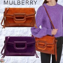 Mulberry☆Brimley Envelope Silky Calf & Suede 3way