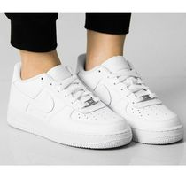 NIKE☆大人も履ける!AIR FORCE 1 GS ホワイト 314192-117