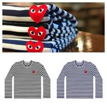 COMME des GARCONS(コムデギャルソン) Tシャツ・カットソー COMME des GARCONS PLAY プレイ レッドハート ロングTシャツ