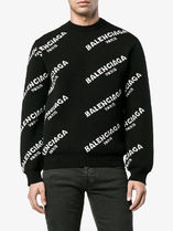 【関税負担】 BALENCIAGA ALL OVER SWEATER