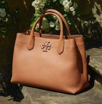 Tory Burch Macgraw  Triple Compartment leather satchel