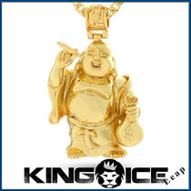 ★King Ice 14K Gold Studded AK-47ネックレス★