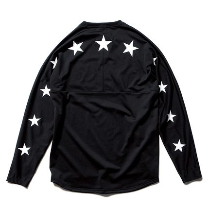 FCRB 17AW L/S STAR TRAINING TOP 2色 ロンT星 スター
