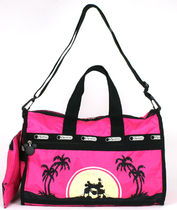LeSportsac DISNEY MINNIE M LOVE IN PARADISE M-WE 7184-P929
