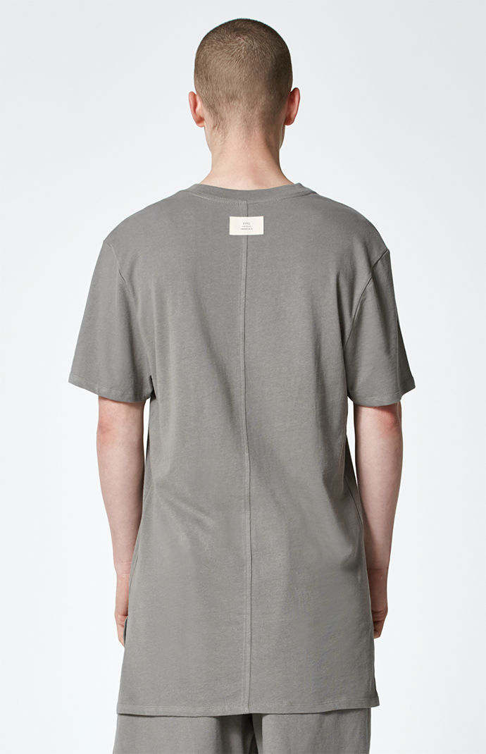 FW17 FOG FEAR OF GOD ESSENTIALS BASIC T-SHIRT FLAT GREY