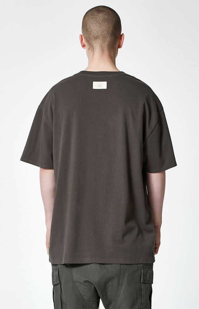 FW17 FOG FEAR OF GOD ESSENTIALS BOXY T-SHIRT FLAT BLACK