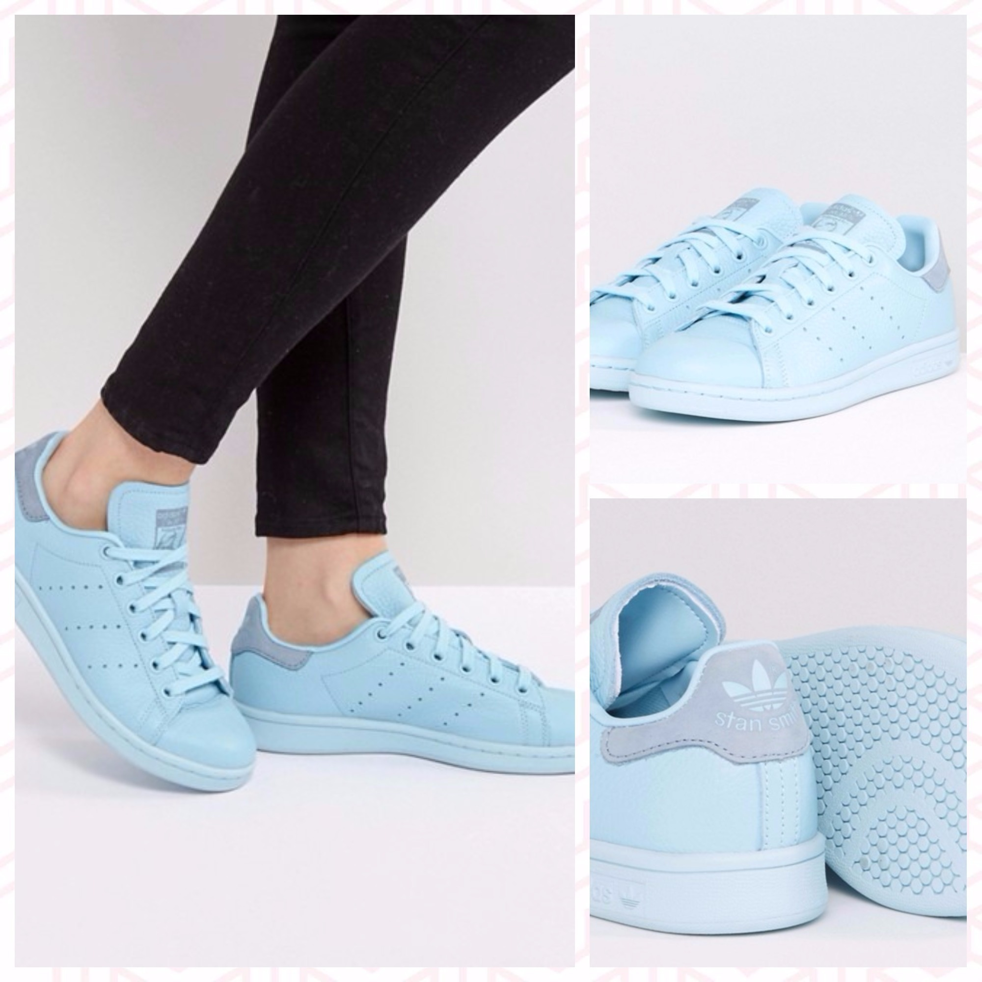 【adidas Originals】Stan Smith ★Icy Blue スニーカー