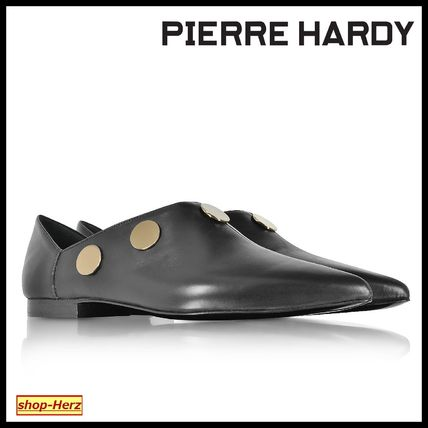 ★Pierre Hardy★ Black Leather Penny ミュール 関税込