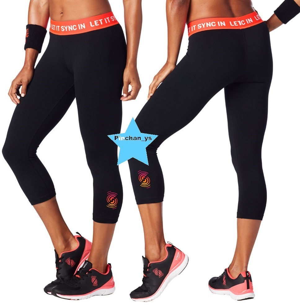 H29.9月新作【ZUMBA】Let It Sync In Capri Leggings Z1B00714