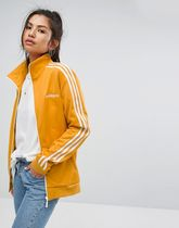 adidas Originals Track Jacket In Yellow