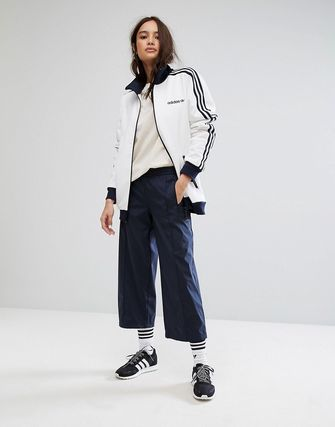 adidas Originals Awkward Length Trouser In Navy