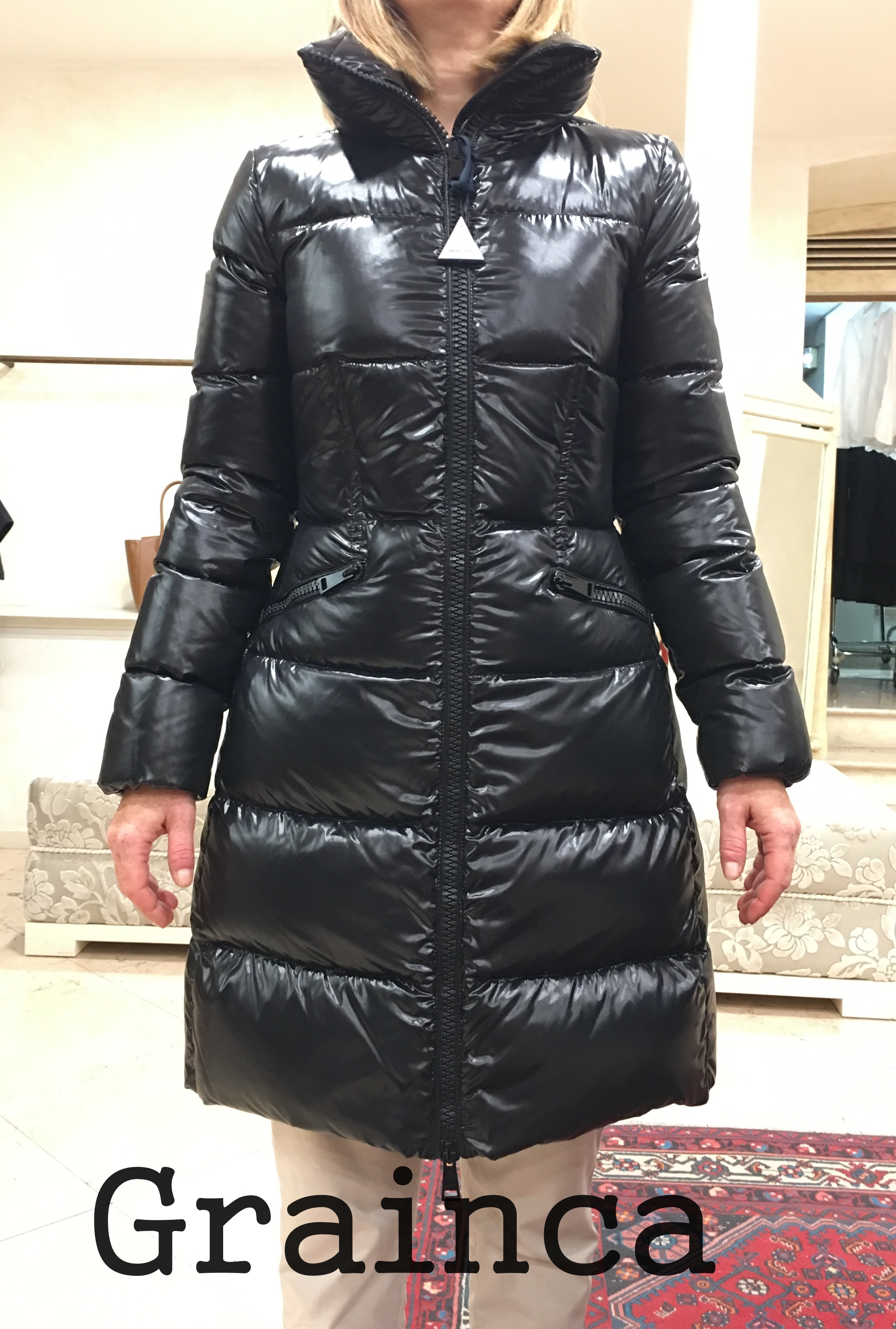 MONCLER★17/18AW  デザインが素敵JASMINUM★ブラック・関税込み
