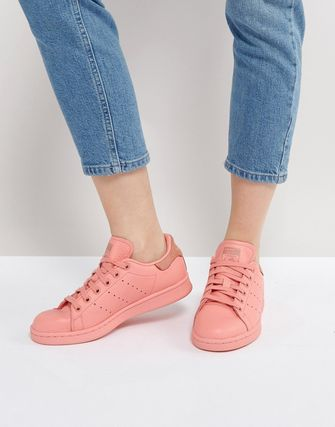 adidas Originals Coral Stan Smith Trainers