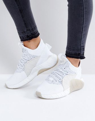 adidas Originals Tubular Rise Trainers In White