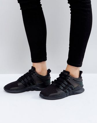 adidas Originals EQT Support Adv Trainer In Black