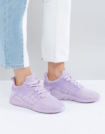 adidas Originals EQT Support Adv Trainer In Lilac