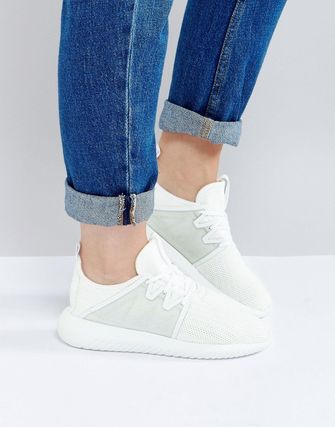 adidas Originals Tubular Viral Trainer In White