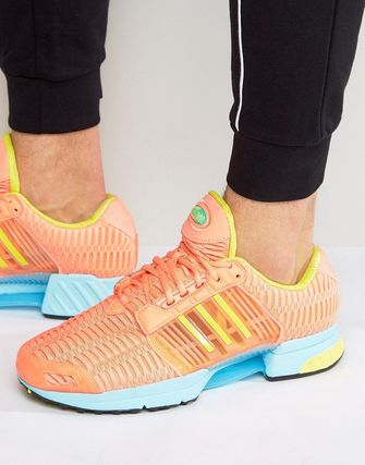 adidas Originals Climacool 1 Trainers In Yellow BY2135