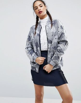 adidas Originals Regista Camo Printed Bomber Jacket