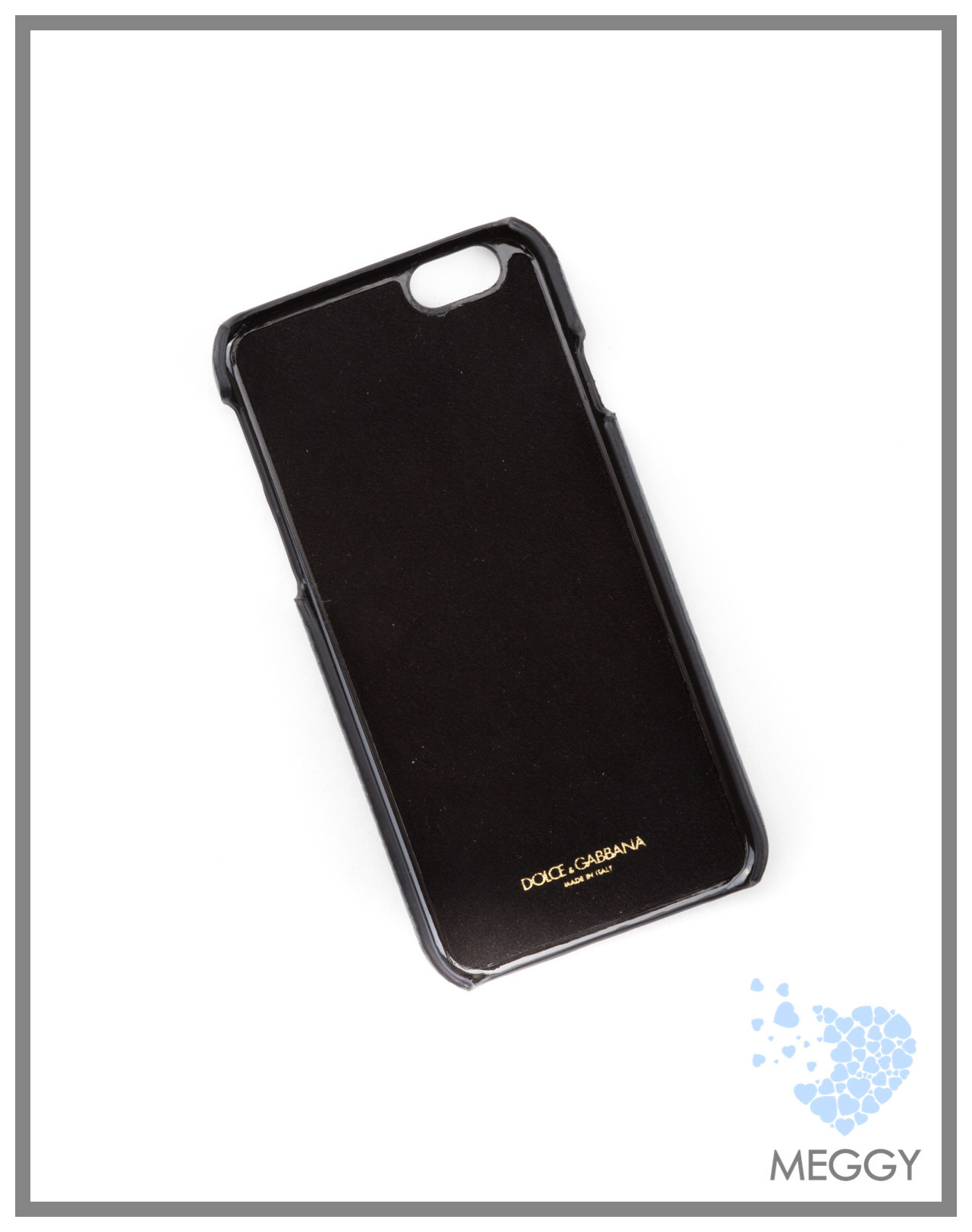 PHONE CASE 6G VITELLO PALMELLATO+RICAMO BP2157 AB370 80651