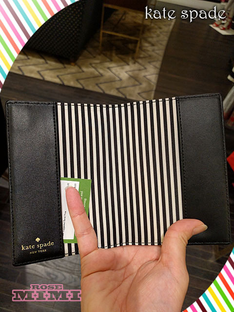 NYタクシーkate spade★nouveau york taxi passport holder