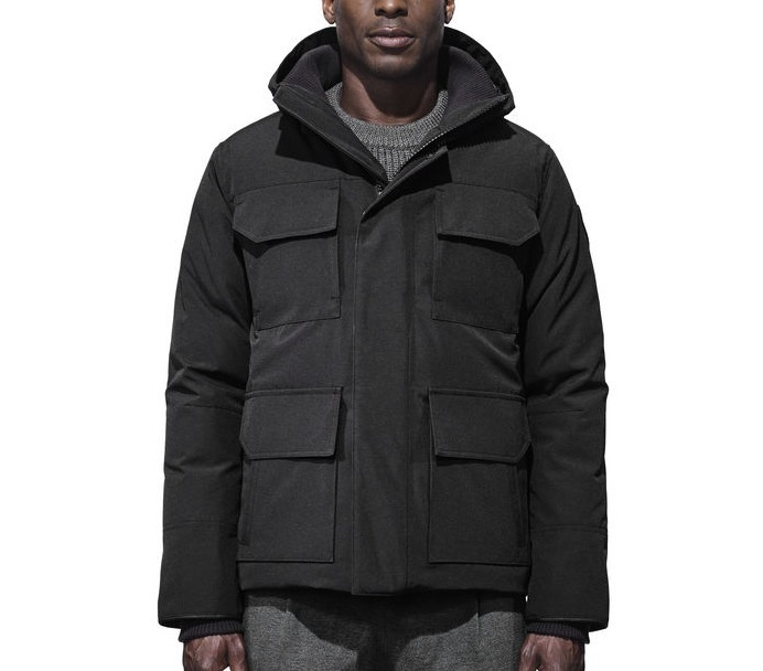 希少!!CANADA GOOSE(カナダグース) Maitland Parka Black Label