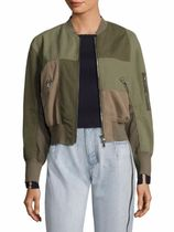3.1 Phillip Lim Patchwork Cotton Bomber ジャケット セール
