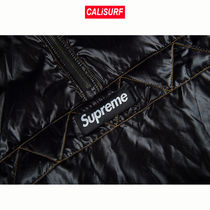 AW17 Supreme(シュプリーム)CONTRAST STITCH PULLOVER/BLACK/S