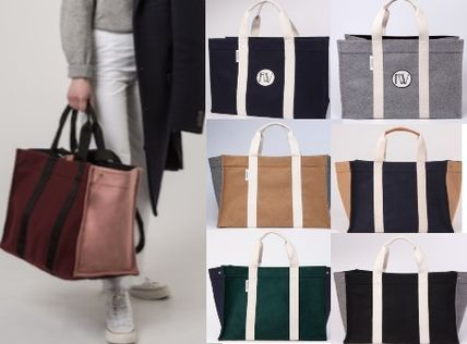 RUE DE VERNEUIL マザーズバッグ 優木まおみさん愛用brand【Rue de Verneuil】Wool Large Tote