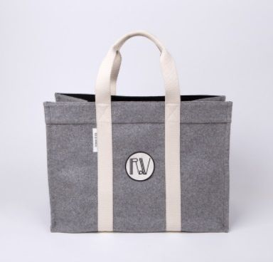 RUE DE VERNEUIL マザーズバッグ 優木まおみさん愛用brand【Rue de Verneuil】Wool Large Tote(3)